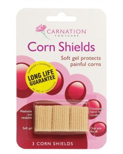 Carnation Footcare Corn Shields - Pack of 3