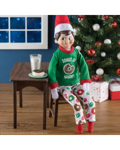 Elf on The Shelf Claus Couture Donut Be Naughty Pjs