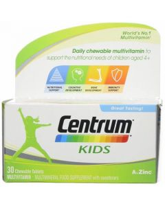 Centrum Kids Chewable Tablets 30 Tablets