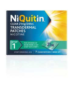 NiQuitin® Clear Patch / 21 mg