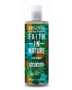Faith in Nature Handwash 400ml-Coconut