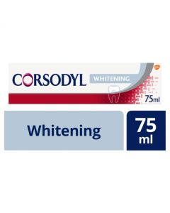 Corsodyl Gum Care Toothpaste Whitening 75ml