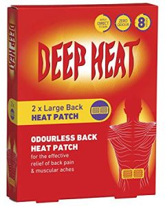 Deep Heat Patches-2 pack