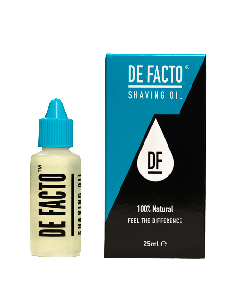 De Facto Shaving Oil 25ml