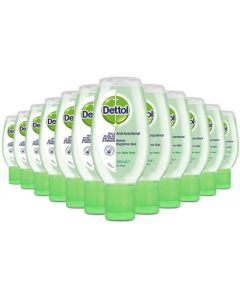 Dettol Hand Sanitizer Aloe Vera 50ml (12 Pack)