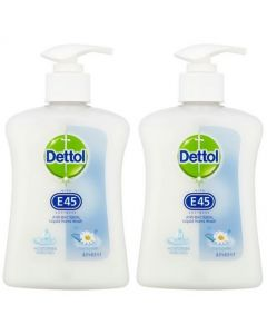 Dettol Handwash with E45 Camomile 250ml (2 Pack)