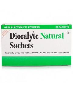 Dioralyte Natural - 20 Sachets