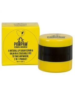 Dr.PAWPAW Natural Lip Sugar Scrub and Lip Balm