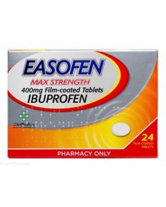 Easofen 400mg Max Strength Ibuprofen - 24 Tablets