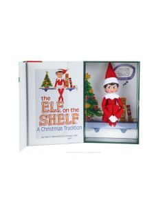 The Elf on the Shelf Christmas Tradition with Girl Scout Elf