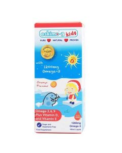 Eskimo-3 Kids Omega 3-6-9 with Vitamin D and E Orange 105ml