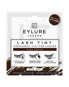 Eylure Lash Tint Dye Kit Dark Brown Formally Dylash