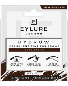 Eylure Eyebrow Dybrow Kit Dark Brown 15ml