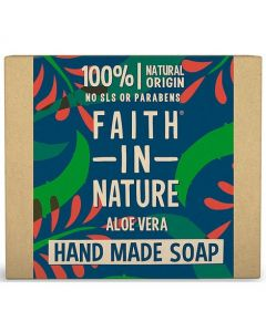 Faith in Nature Bar Soap 100g-Aloe Vera