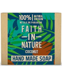 Faith in Nature Bar Soap 100g-Coconut