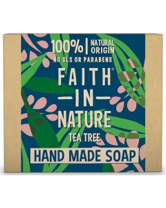 Faith in Nature Bar Soap 100g-Tee Tree