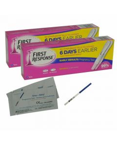First Response Pregnancy Test -Double