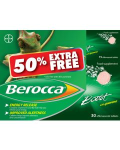 Berocca Boost 30s + 50% Extra Free
