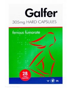 Galfer Iron Supplement 28 - Hard Tablets