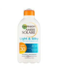 Garnier Ambre Solaire Light and Silky Sun Lotion 200ml-20