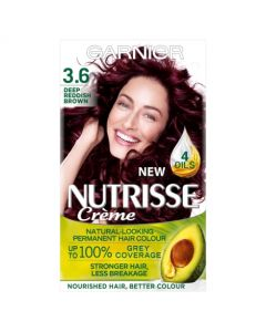 Garnier Nutrisse Creme Deep Reddish Brown 3.6