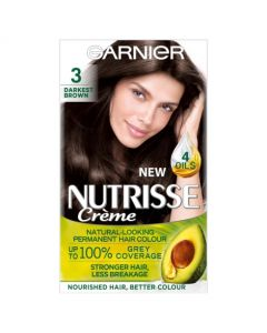 Garnier Nutrisse Creme Ebony Intense Dark Brown 3.0