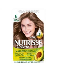 Garnier Nutrisse Creme Sandalwood Light Brown 6