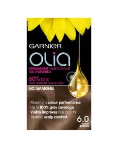 Garnier Olia Hair Colour-6.0 Light Brown