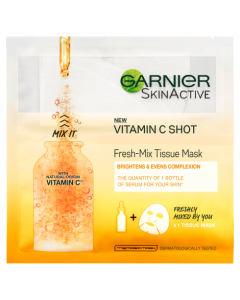 Garnier Fresh-Mix Face Sheet Shot Mask with Vitamin C 33g