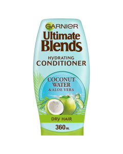 Garnier Ultimate Blends Coconut Water Dry Hair Conditioner 360ml