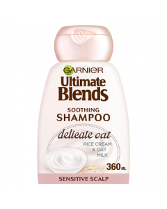 Garnier Ultimate Blends Oat Milk Sensitive Scalp Shampoo 360ml