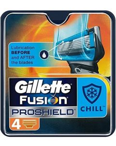Gillette Fusion Proshield Chill - 4 Pack Blades