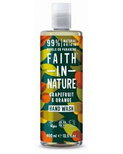 Faith in Nature Handwash 400ml-Grapefruit & Orange