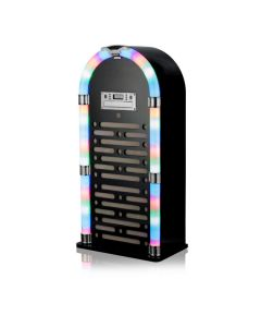 iTek I60017GB Bluetooth Jukebox with CD Player and FM Radio, Gloss Black