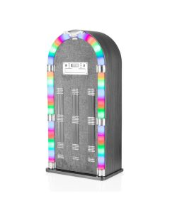 Itek Floorstanding Bluetooth Jukebox CD Grey