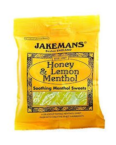 Jakemans Honey & Lemon Menthol Sweets -100g