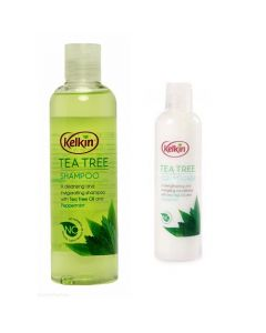 Kelkin Tea Tree Shampoo & Conditioner Twin Pack