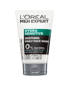 L'Oreal Men Expert Hydra Sensitive Soothing Daily Face Wash 100ml