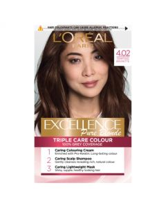L'Oreal Excellence 4.02 Tempting Brunette Brown
