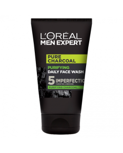 L'Oreal Paris Men Expert Pure Charcoal Purifying Daily Face Wash 100ml