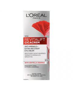 L'Oreal Paris Revitalift Cica Anti Wrinkle Recovery Eye Cream 15ml