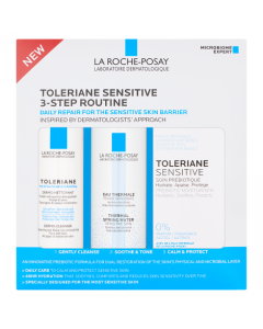 La Roche Posay Toleraine Sensitive 3 Step Routine Kit