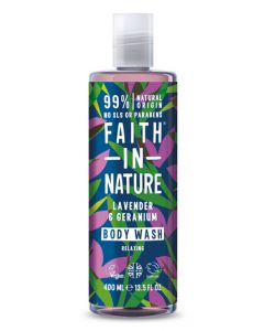 Faith in Nature Body Wash 400ml-Lavender & Geranium