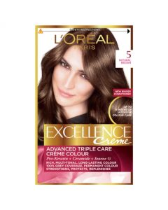 Loreal Paris Excellence Creme 5 Natural Brown