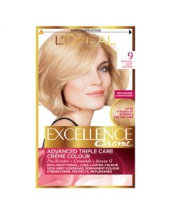 Loreal Paris Excellence Creme 9 Natural Light Blonde
