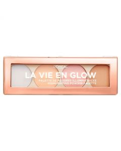 Loreal Paris La Vie En Glow Highlighting Powder Palette-Cool Glow Pallet