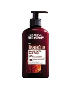 Loreal Paris Men Expert Barber Club Beard + Face + Hair 3-in-1 Wash