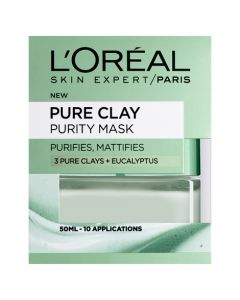 Loreal Paris Pure Clay Purity Mask 50ml