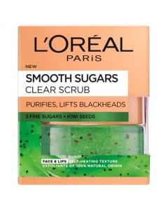 Loreal Paris Smooth Sugars Clear Scrub