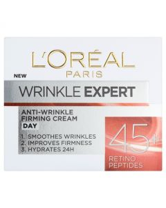 Loreal Paris Wrinkle Expert Anti-Wrinkle Firming Cream 45+ 50ml Pot